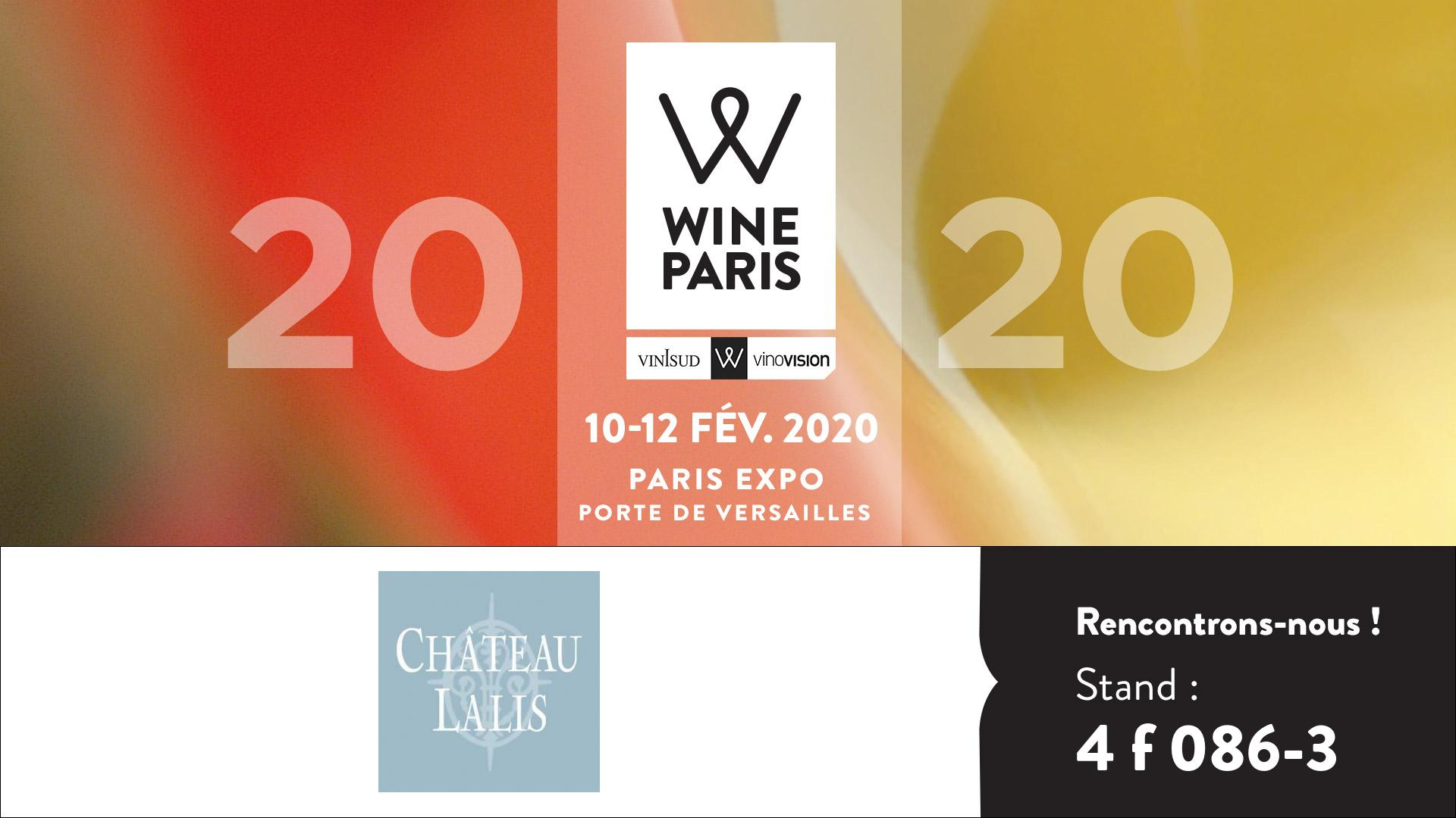 Wine Paris 2020 🗓